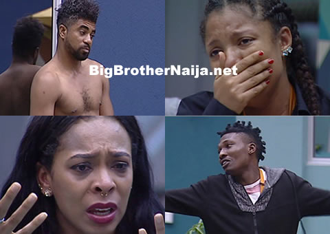 Big Brother Naija 2017 Day 4, Housemates Get Emotional And Break Down In Tears