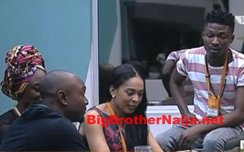 Day 38, Big Brother Africa Host IK Visits The Big Brother Naija 2017 Housemates
