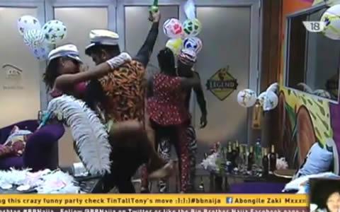 Big Brother Naija 2017 Week 8 Saturday Night Party Highlights