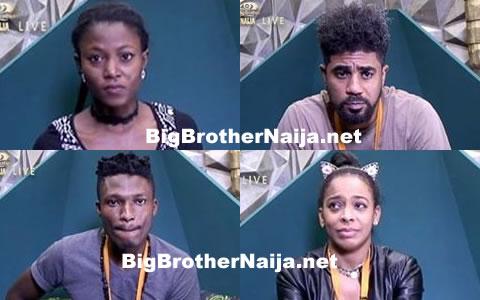 Big Brother Naija 2017 Week 8 Nominations Results