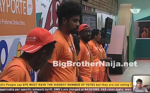 Big Brother Naija 2017 Housemates Win Week 8's Wager