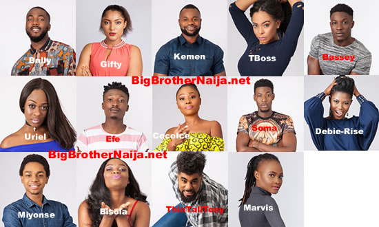 Most Dominant Big Brother Naija 2017 Housemates On Social Media
