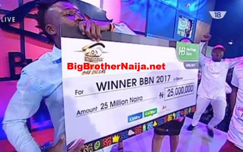 Big Brother Naija 2017 Winner Efe Ejeba