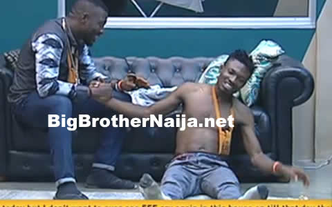 Efe's Gets Drunk In The Big Brother Naija House