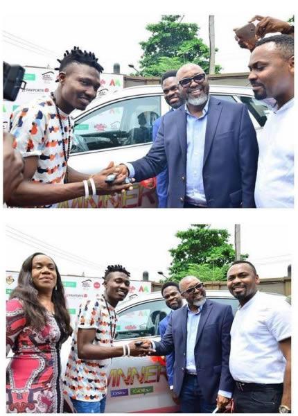 Big Brother Naija Season 2 Winner Efe Ejeba Receives His Brand New SUV