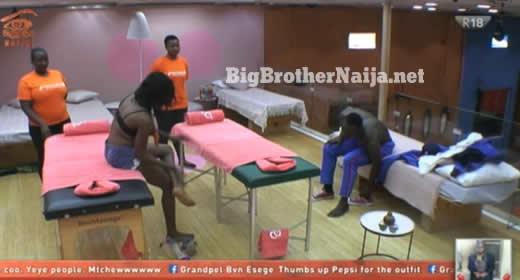 Ahneeka And Angel Receive Massages