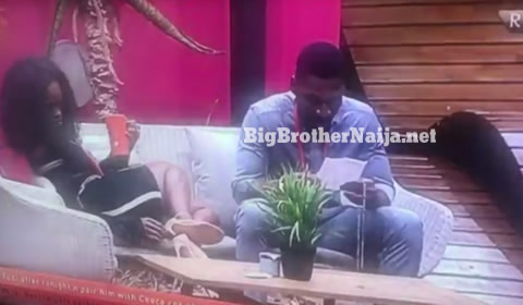 Cee-C Writes Tobi A Love Letter On Big Brother Naija 2018 Day 36