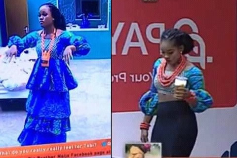 Cee-C's Dress Scandal Of Big Brother Naija 2018