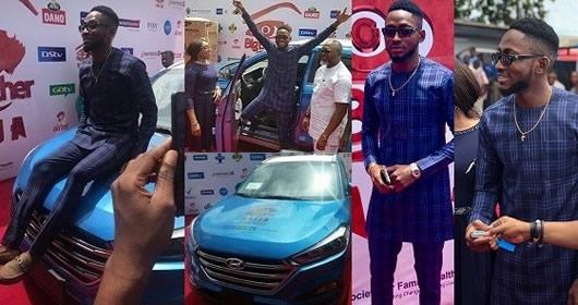 Miracle Ikechukwu Receives Brand New Big Brother Naija 2018 Car Prize