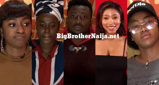 Big Brother Naija 2019 Week 2 Nominated Housemates