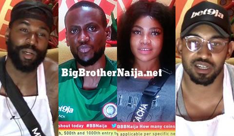 Big Brother Naija 2019 Week 5 Nominationed Housemates