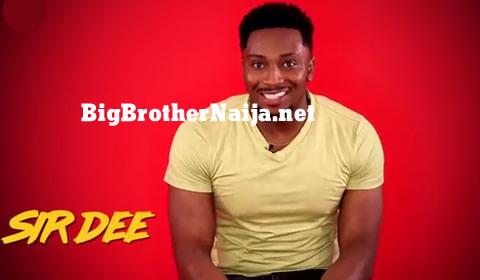 Sir Dee Big Brother Naija 2019 Housemate