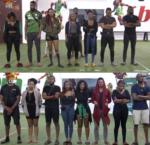 Big Brother Naija Season 4 Housemates create Teams The Icons and Cruisetopia