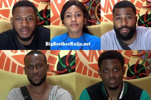 Big Brother Naija 2019 Grand Finalists, Omashola, Frodd, Seyi, Mike, Mercy