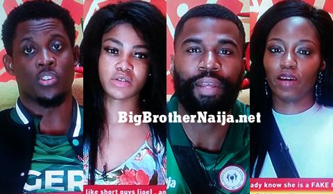 Big Brother Naija 2019 Week 11 Nominated Housemates, Seyi, Tacha, Mike, Khafi