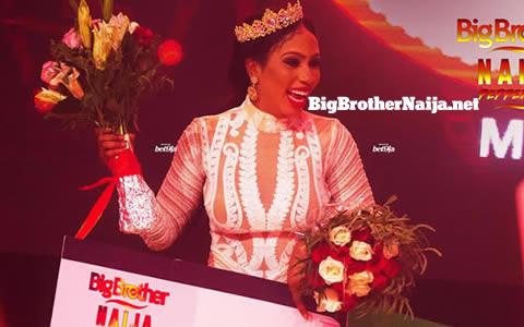 Mercy Eke Wins Big Brother Naija 2019 'Season 4'