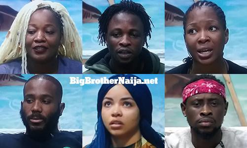 Big Brother Naija 2020 Week 7 Nominated Housemates