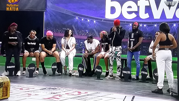 Big Brother Naija 2020 Week 7 Head of House, Erica, Deputy Prince, Lounge Guests Dorathy and Trikytee