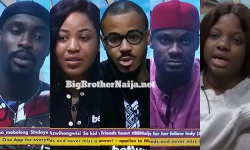 Big Brother Naija 2020 Week 7 Nominations