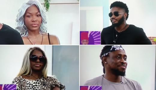 Big Brother Naija 2020 week 5 voting results - Nominated Housemates