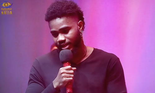 Praise Nelson evicted from Big Brother Naija 2020 Lockdown on Day 35 of the show