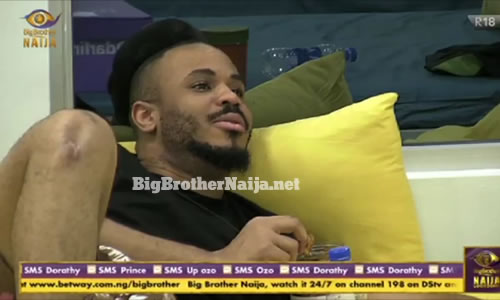 Ozo denies being intimate with Nengi in private inside the Big Brother Naija 2020 house