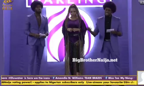 Team Braids of TrikyTee, Nengi and Prince in the Darling Find your beautiful task