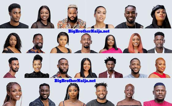 Big Brother Naija 2021 (Season 6) Housemates Picture