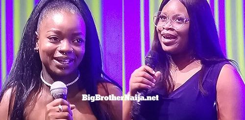 Arin and Princess Francis evicted from Big Brother Naija 2021 'Season 6'