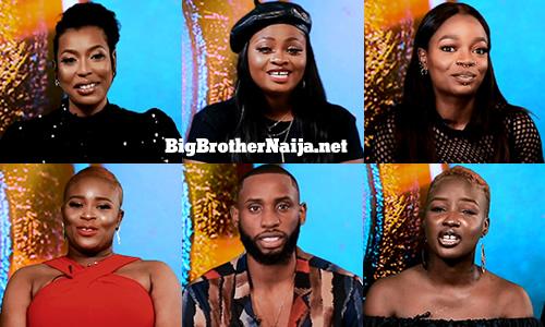 Big Brother Naija 2021 'Season 6' Week 3 Nominated Housemates