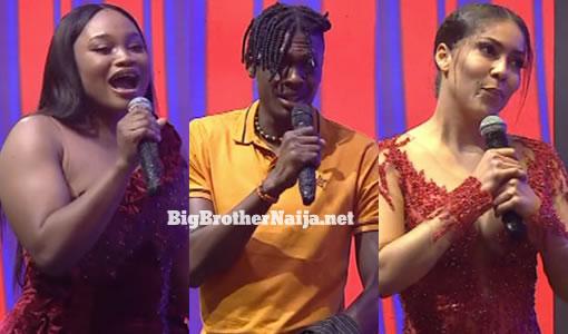 JMK, Sammie and Maria evicted from Big Brother Naija 2021 'Season 6'