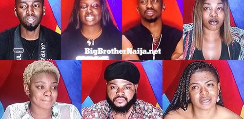 Big Brother Naija 2021 'Season 6' Week 7 Nominated Housemates