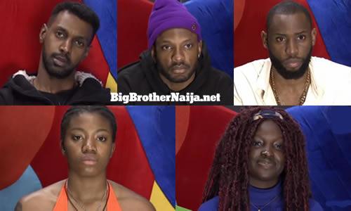 Big Brother Naija 2021 (Season 6) Week 8 Nominated Housemates