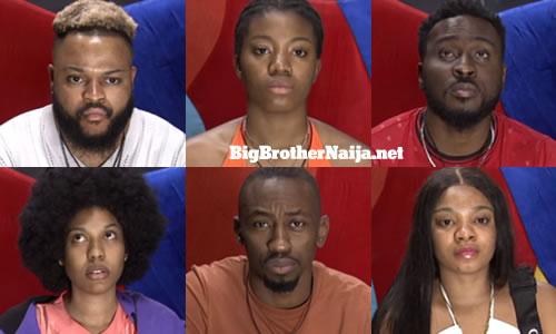 Big Brother Naija 2021 (Season 6) Week 9 Nominated Housemates