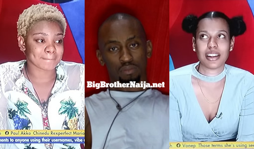 Queen, Nini and Saga evicted from Big Brother Naija 2021 (Season 6)