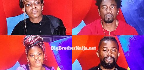Tega, Peace, Michael and Boma evicted from Big Brother Naija 2021 'Season 6'